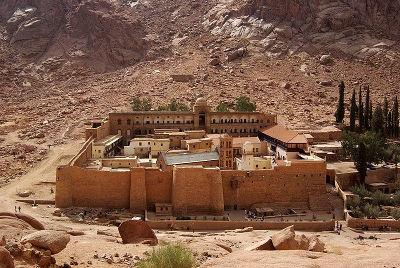 سینٹ کیتھرین مصر-Katharinenkloster_Sinai.jpg