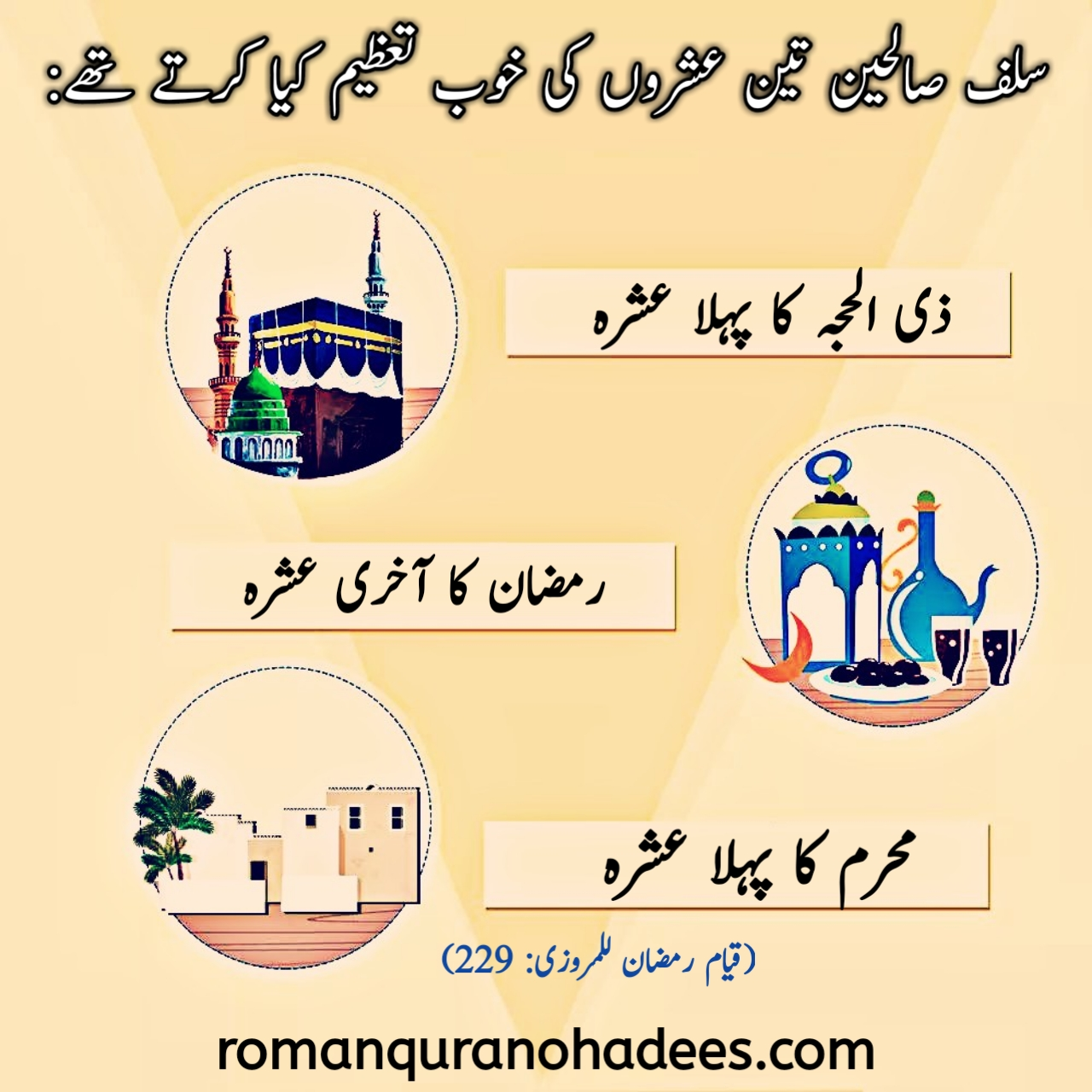 Salaf e Saliheen teen ashron ki khoob tazeem karte the (Ur).jpg